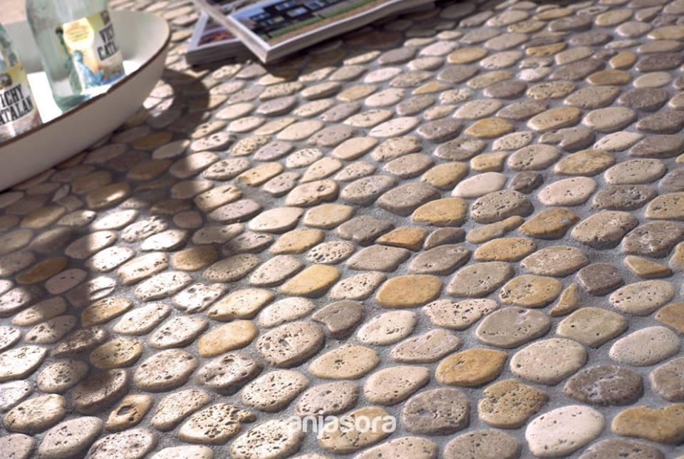 Mallas piedra natural azulejos y pavimentos mart n - Comprar piedras jardin ...