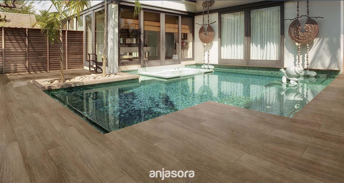 Serie 19x119 wood azulejos y pavimentos mart n - Suelos de terrazas exteriores ...
