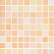 25x36 mosaic sweet tangerine