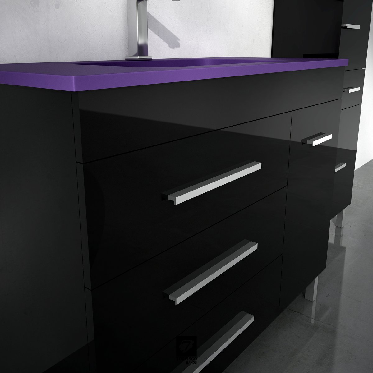 Muebles De Baño Torvisco:SERIE NIGER